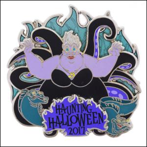 Ursula Haunting Halloween 2017 pin