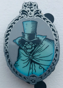 Hatbox Ghost Glow In The Dark pin