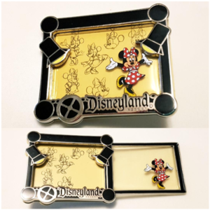 Minnie Mouse - Ink and Paint Collection pin