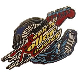 WDW - Rock 'n' Roller Coaster Stylized Logo pin