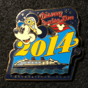 DCL Captain Mickey 2014 pin