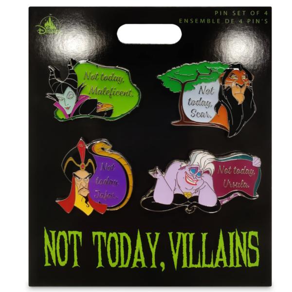 Maleficent - Disney Villains Flair Pin Set pin