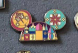 Small world ear hat pin