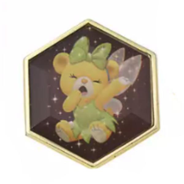 Lemonade - UniBEARsity Pin Badge Set Crystal Art UniBEARsity 10th ANNIVERSARY pin
