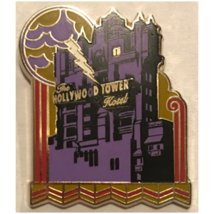 Hollywood Studios 2016 Booster Set - Hollywood Tower Hotel pin