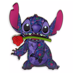 Stitch Crashes Disney - Beauty and the Beast pin