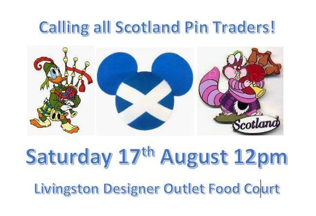 Scottish Pin Trading
