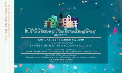 NYC Disney Pin Trader Event
