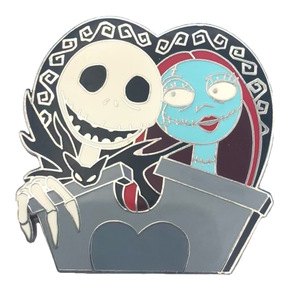 Jack Skellington & Sally - Deluxe Nightmare Before Christmas starter set pin
