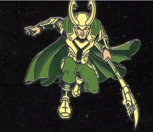 Marvel Comics - Loki pin