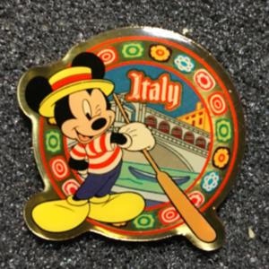 Morinaga Italy Mickey pin