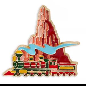 Main Attraction Big Thunder Mountain scene pin