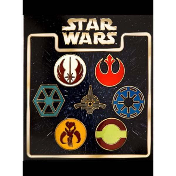 Open Circle Fleet pin