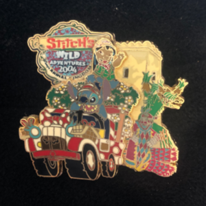 Stitch's wild adventures 2004 family pin
