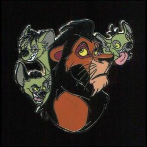 Scar, Shenzei, Banzai, and Ed pin