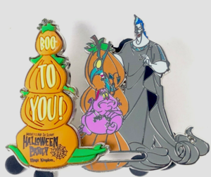 Hades Halloween 2019 pin