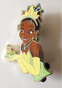Artland Princess and Friends Tiana and Naveen pin