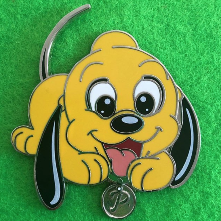 A typical Disney pin (isn't Pluto cute here?!)