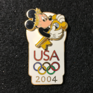 USA 2004 Olympic logo Passholder Exclusive  pin