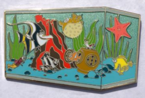 Nemo Fish Tank - FairyTails Event pin
