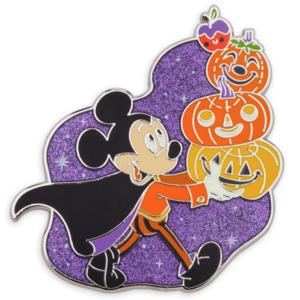 Halloween 2021 - Mickey with Jack-o-lantern stack pin