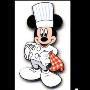 Mickey chef pin