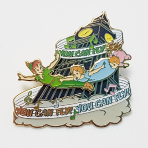 """Magical Musical Moments No. 16 - Peter Pan - """"You Can Fly"""" pin"""