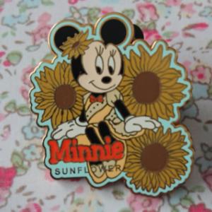 Minnie's Bouquet - Sunflower  pin