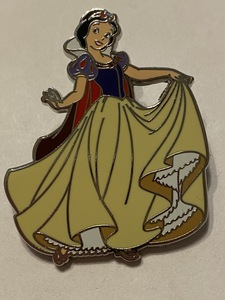 Snow White holding Up Her Dress pin