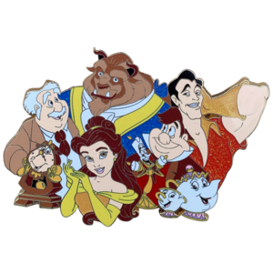 Beauty and the Beast cluster fantasy pin pin