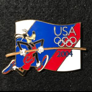 USA Olympic Starter Lanyard Goofy pin
