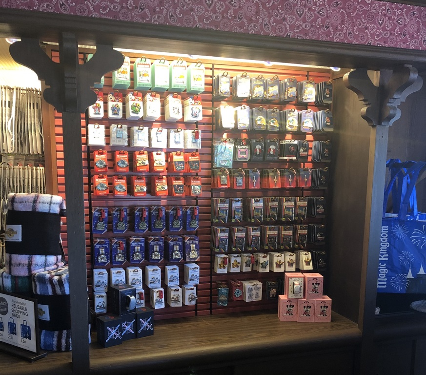 Behind the counter in Frontier Trading Post