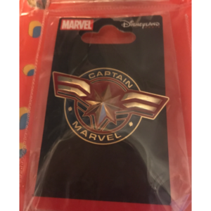 Captain Marvel logo 3D pin