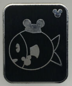 Fish - Hidden Mickey Mouse Ear Pets pin