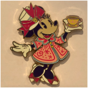 Minnie Mouse Main Attraction Tea Cup Minnie pin