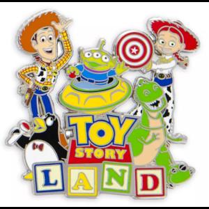 Toy Story Land pin