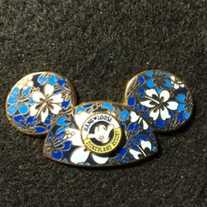DLR Mickey Ear Hat Hang Loose pin