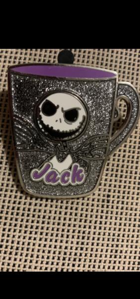 Jack Skellington mug pin