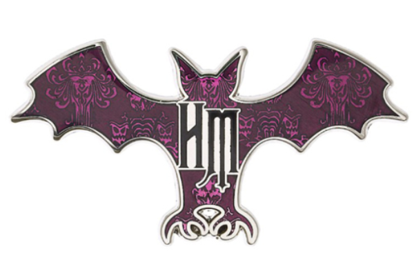 broche Haunted Mansion Bat