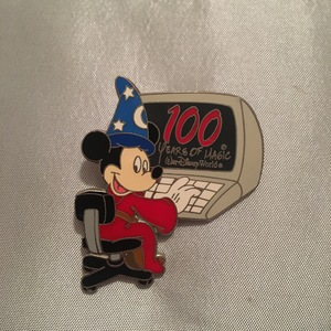 Sorcerer Mickey 100 Years of Magic pin