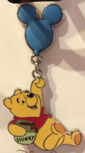 Pooh Flying On A Mickey Balloon pin