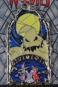 Oogie Boogie - Windows of Evil pin