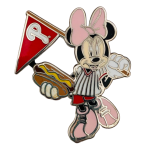 MLB Philadelphia Phillies - Minnie with hotdog pin
