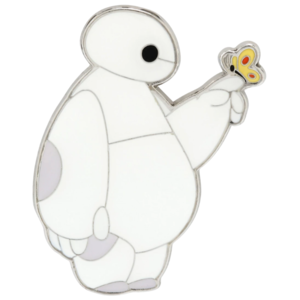 Baymax with butterfly - Loungefly pin