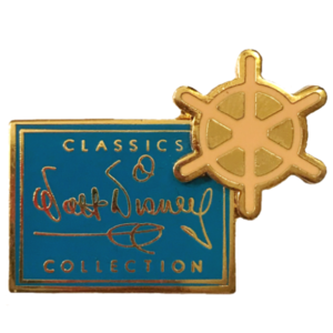 WDCC - 10th Anniversary Steamboat Wheel (1992) Production Mark (12 Pin Boxed Set) pin
