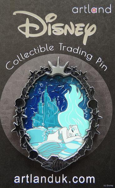 Ariel Gothic Princess Artland pin