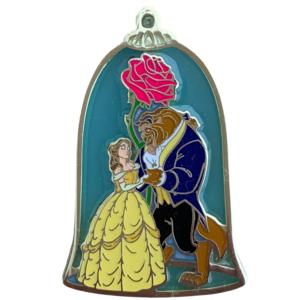 Uncas International - Belle and Beast dancing - Enchanted Rose pin