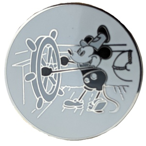 Steamboat Willie Magical Mystery Pin pin