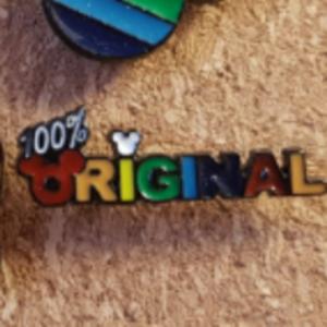 Primark Rainbow Mickey- 100% Original pin