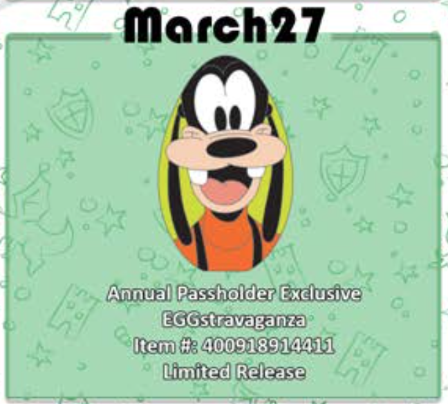 March 27th pin release